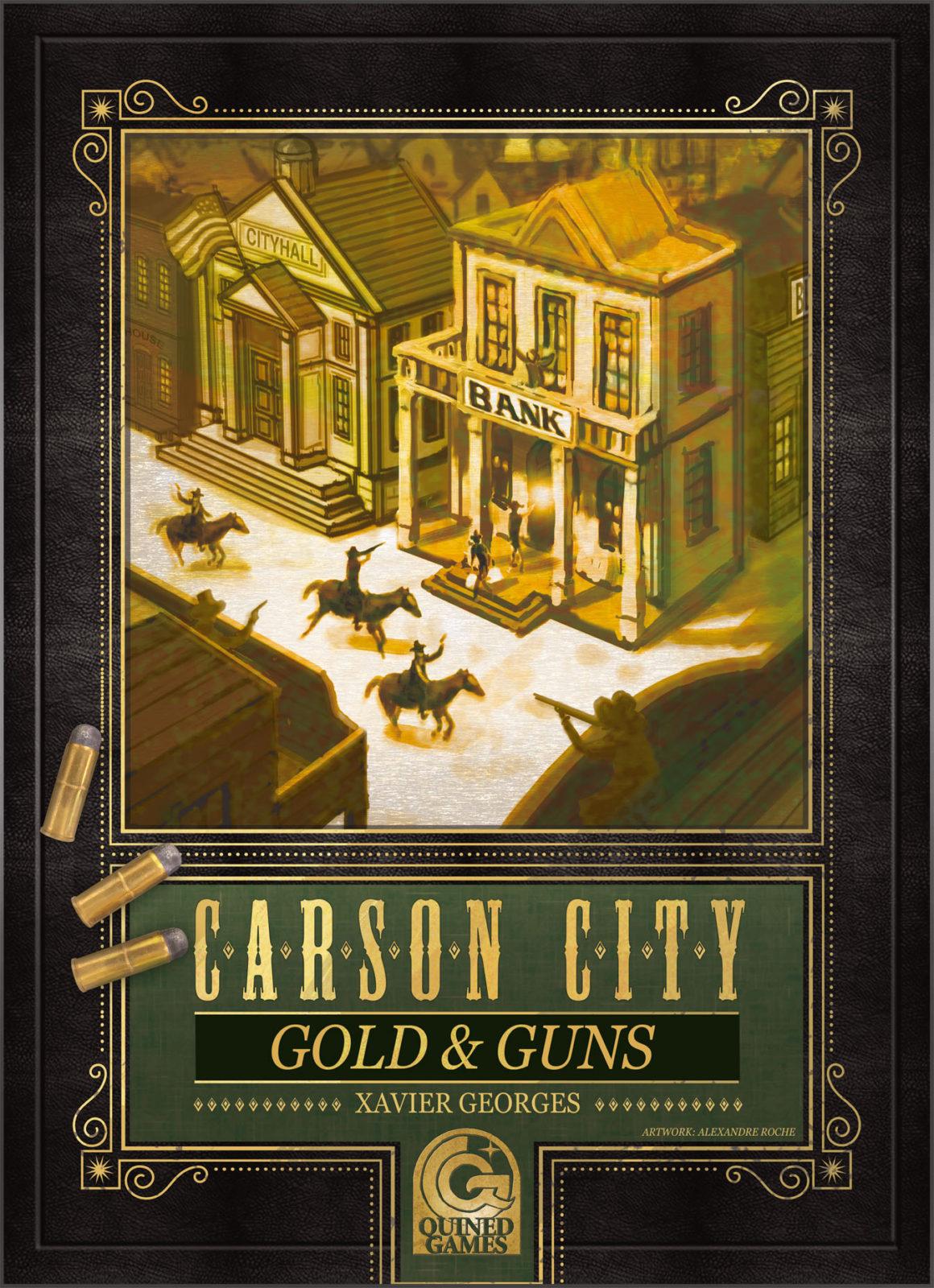 Carson City: Gold & Guns box