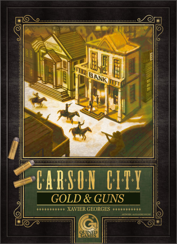 Carson City: Gold & Guns box